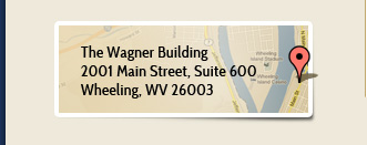 The Wagner Building, 2001 Main Street, Suite 600, Wheeling, WV 26003